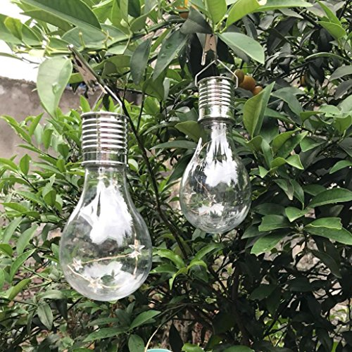 LiPing Color Waterproof Solar Rotatable Outdoor Garden Camping Hanging LED Light Lamp Bulb, Ideal as Night Lights, Kids Children Adult Nightlight,Home Gift Idea (Multi-colored) by LiPing (Image #4)