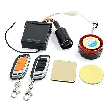 sourcing map 12V Sistema de Alarma de Seguridad Kit ...