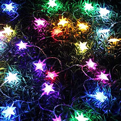 fannybuy 246 feet christmas string lights colored battery operated led christmas decorations for bedroom indoor outdoor - Led Christmas Decorations Indoor
