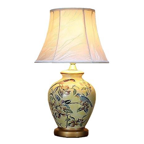 TIAN HENG XIN Lámpara de Mesa de Dormitorio de la lámpara de ...