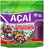 Amafruits Acai Traditional Mix with Guarana - 144 Smoothie Packs