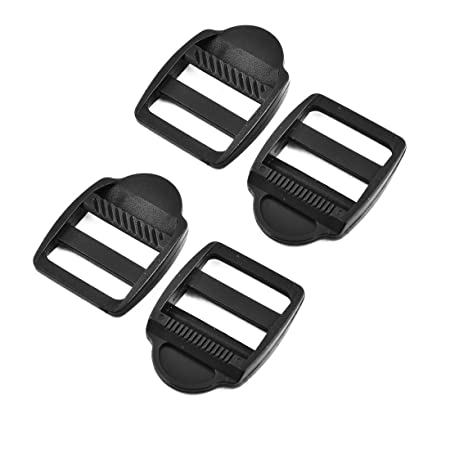 For Webbing Strap Buckle Clip Bag Backpack Fastener 25mm Plastic Ladder Lock