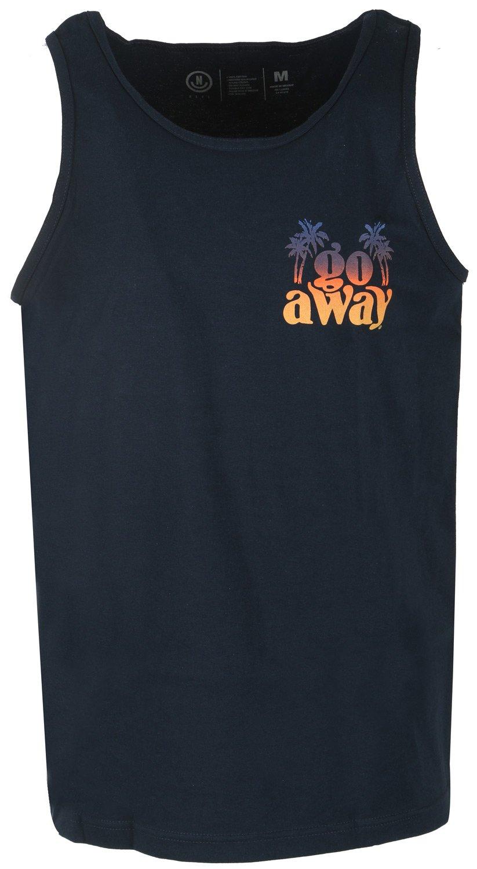 NEFF Men's Boogie Tank Top-Summer Shirts Women, Navy, L