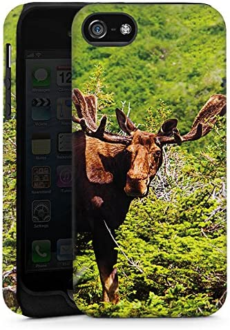 Apple iPhone 5S exterior Shell Militar carcasa Alce Reno ...