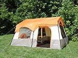 Tahoe Gear Ottawa 12 Person Cabin Frame Family Tent, Outdoor Stuffs