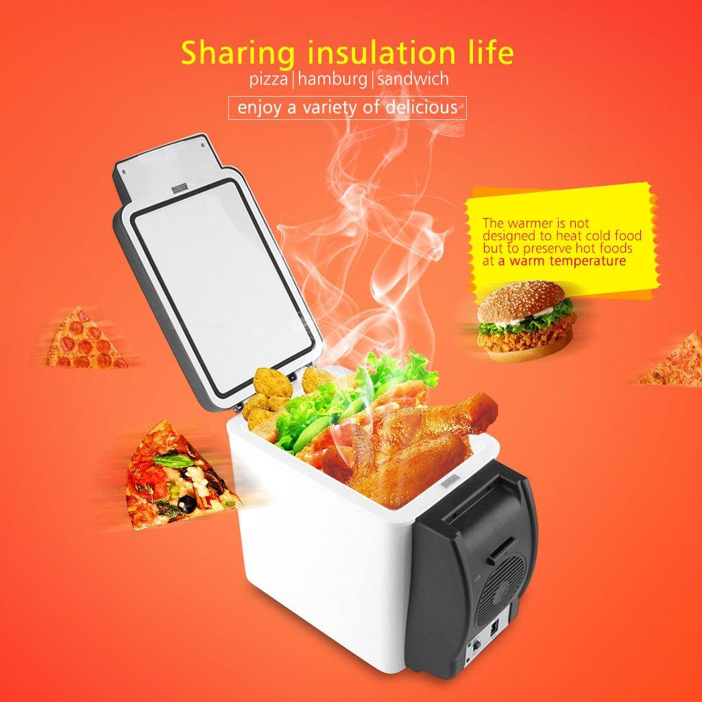 Excelvan Car Refrigerator 12V Car Cooler Warmer 6L Electric Fridge Portable Travel Refrigerator Cooler Box