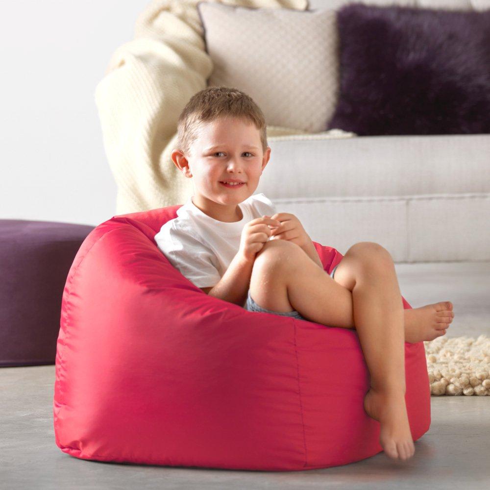Orange Un Si/ège Fauteuil pour Enfant Bean Bag Bazaar/® Chaise Pouf Moyen-Grande Taille pour Enfants pour Un Usage int/érieur et ext/érieur de Chaises Pouf pour Enfants