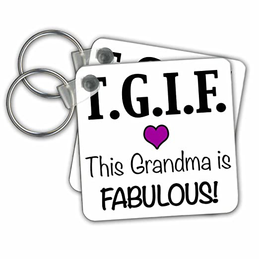 Amazon.com: EvaDane - Funny Quotes - TGIF This Grandma is ...