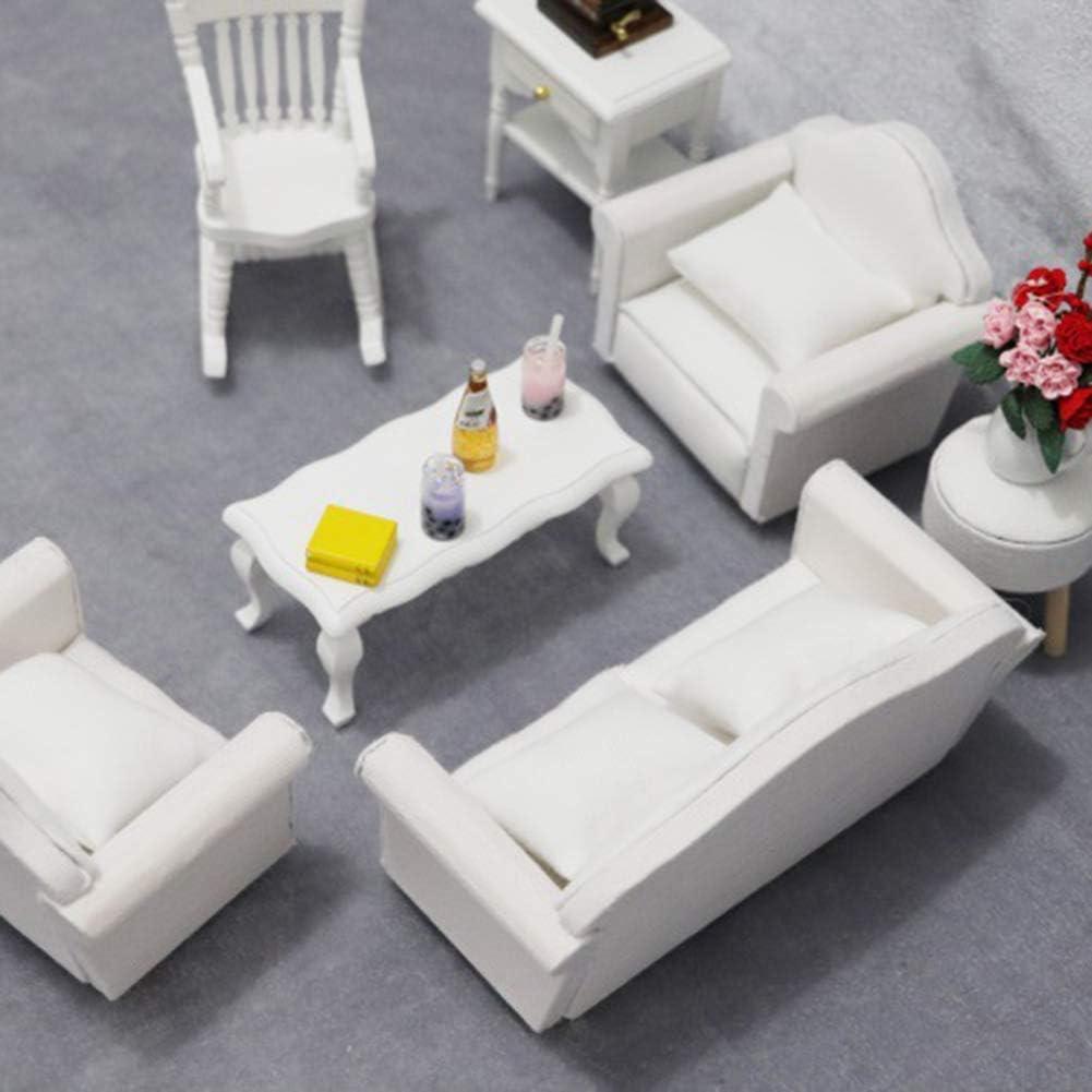 ypypiaol 1//12 Doll House Divano Poltrona Cuscino Accessori Soggiorno in Miniatura Regalo 1#