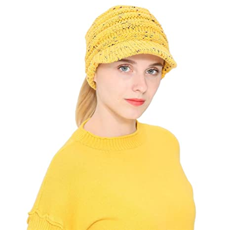 6ab6902eea5 Image Unavailable. Image not available for. Color  Teresamoon Women Men  Autumn Winter Beanie Hat ...