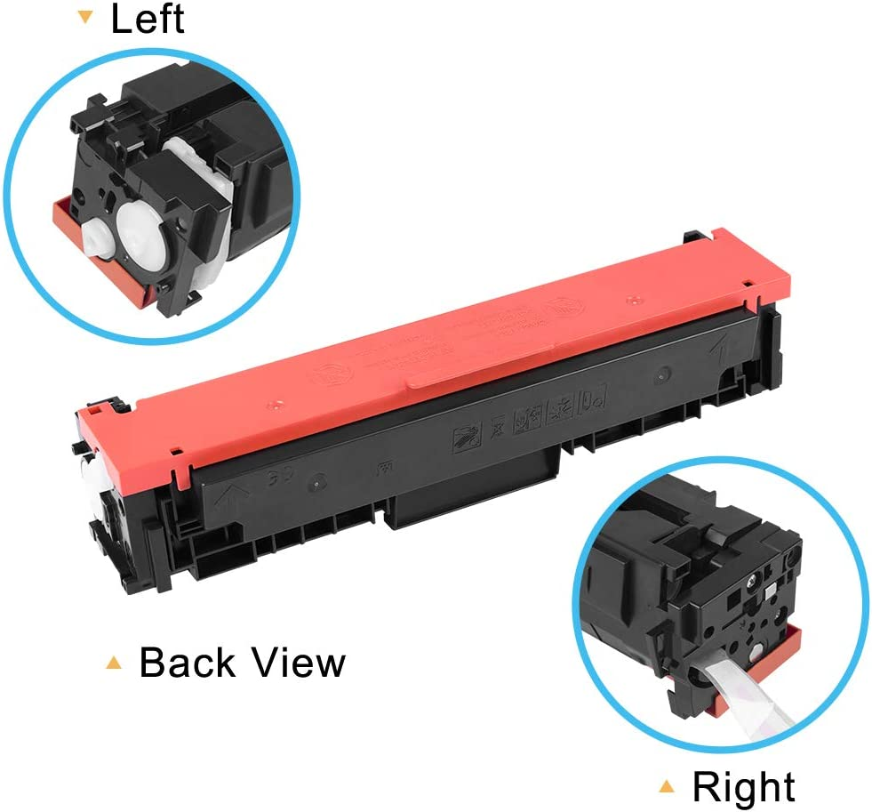 Cool Toner Compatible Toner Cartridge Replacement for Canon 055 Toner Cartridge 055 055H for Canon imageCLASS MF743Cdw MF741Cdw MF746Cdw MF745Cdw LBP664Cdw LBP660C Black Cyan Magenta Yellow, 4-Pack