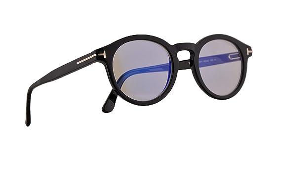 c2d8401f0b Tom Ford FT5529-B Eyeglasses 48-22-145 Shiny Black w Demo Clear Lens 001 FT  5529-B TF 5529-B TF5529-B  Amazon.co.uk  Clothing