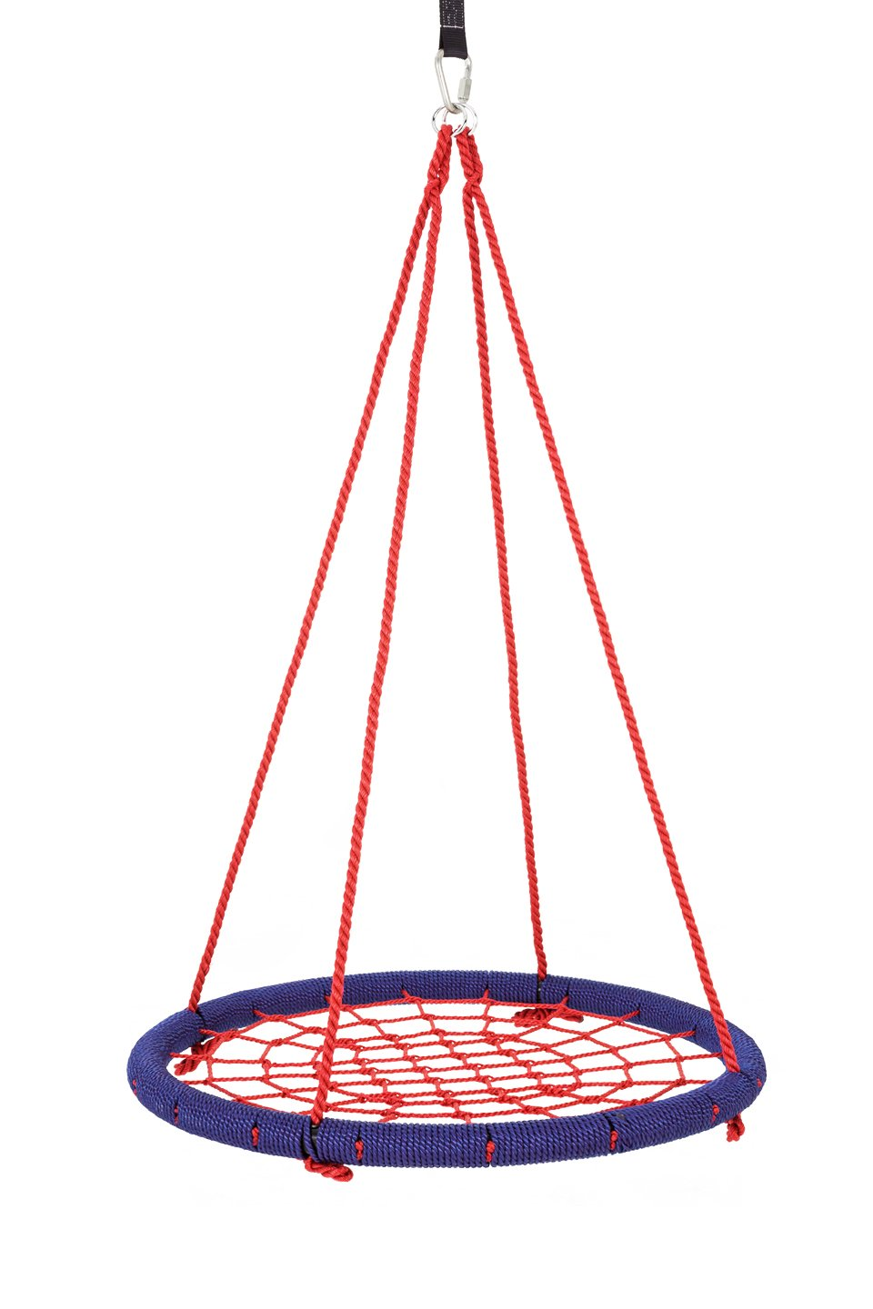SkyBound Round Tree Swing Nets, Navy Blue/Red, 40''/Large by SkyBound (Image #1)