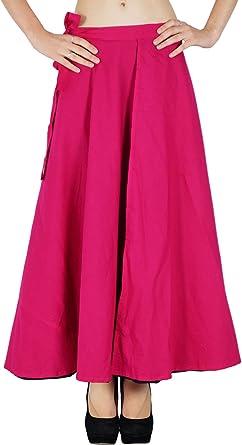 Phagun Reversibles Vestido de algodón impresión sólida Nuevo ...