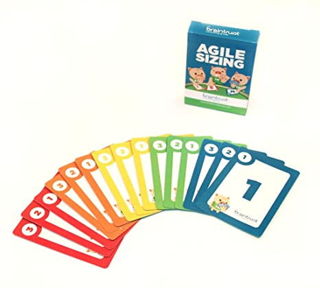 Agile Sizing Cards - Planning Poker Like - Perfect for Estimating/Sizing Work!