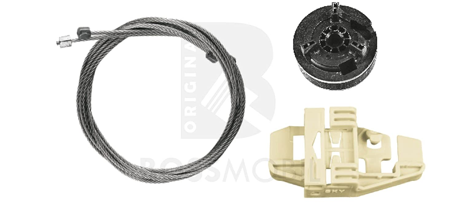 Original Bossmobil Modus (F/JP0_), 2/3 doors or 4/5 doors, front right, window lifter repair kit