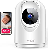 【Última versión 2021】 1296P Cámara de Vigilancia Interior, Cámara IP Mibao 3MP WiFi, Visión Nocturna, Detección Remota…