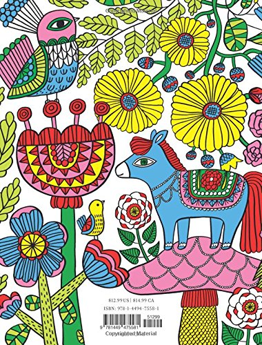 Buy Posh Adult Coloring Book Happy Doodles For Fun Relaxation Flora Chang Books Online At Low Prices In India