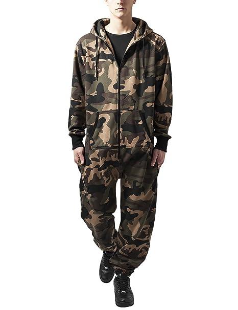 b5224b96ee9b9f Urban Classics Camo Jumpsuit Tuta Uomo: Amazon.it: Abbigliamento