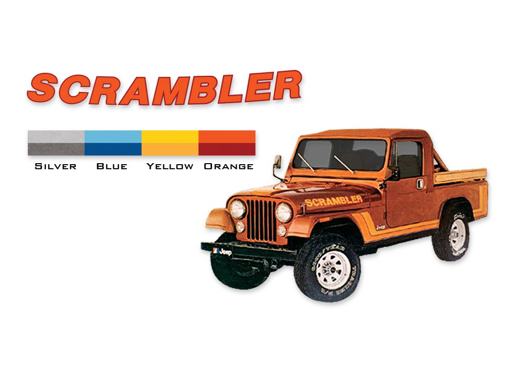 Cj8 Scrambler Wiring Harness Jeep Decals Com 1981 1982 Stripes Kit