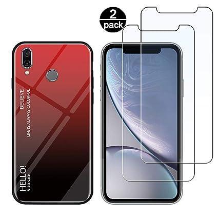 Funda para Huawei P Smart 2019 + [2 Pack] Protector Pantalla ...