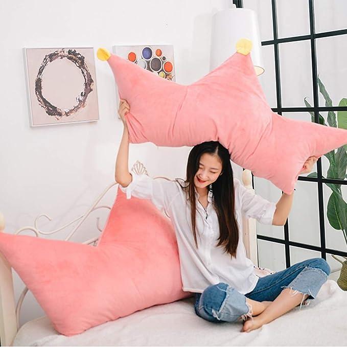 Amazon.com: Cushions Almohada corona almohada almohada cama ...