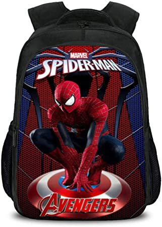 Garçons Spiderman Sac à dos enfants Déjeuner École Livre Sac De Voyage Sac à dos super héros
