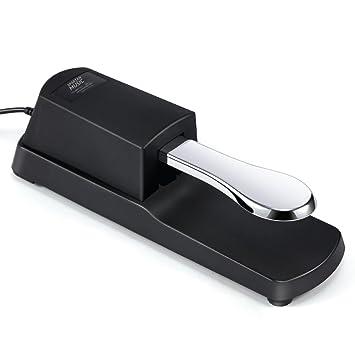 Sustain Pedal de Pie para Digital Pianos Teclados Electrónicos FP-1: Amazon.es: Instrumentos musicales