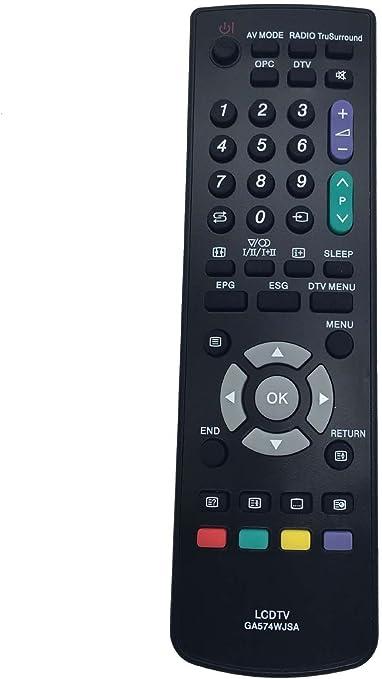 Vinabty reemplazado control remoto del televisor GA574WJSA para ...