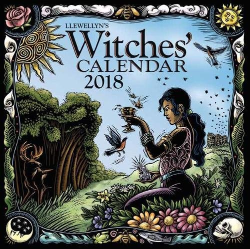Lunar Calendar Astrology - Llewellyn's 2018 Witches' Calendar