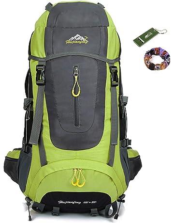 Onyorhan 70L Travel Backpack Trekking Hiking Mountaineering Climbing  Camping Rucksack for Men Women 4e2b4ef839812