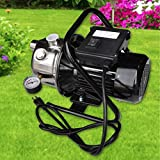 Strong Camel 1 HP Portable Stainless Steel Lawn Sprinkling Pump With Debris Strainer