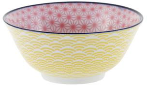 Tokyo Design Studio Starwave Bowl - Pink/Yellow at Amara