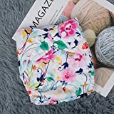 Babygoal Baby Cloth Diapers for Girls, One Size