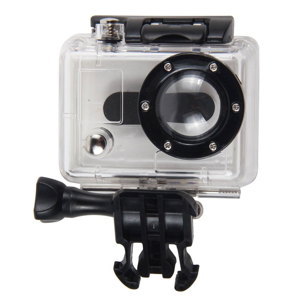 Replacement Waterproof HD Housing Case for GoPro HD HERO and HD HERO2 Camera by Mochalight
