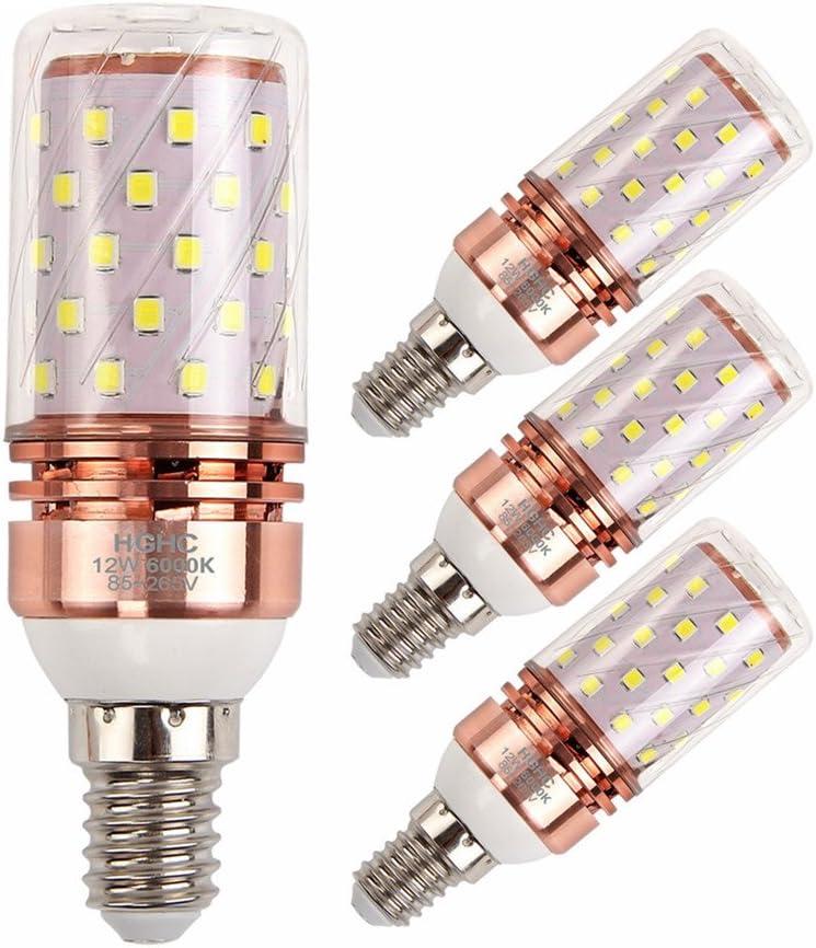Bomnilla LED E14 12W Equivalente 100W incandescente bombillas ...