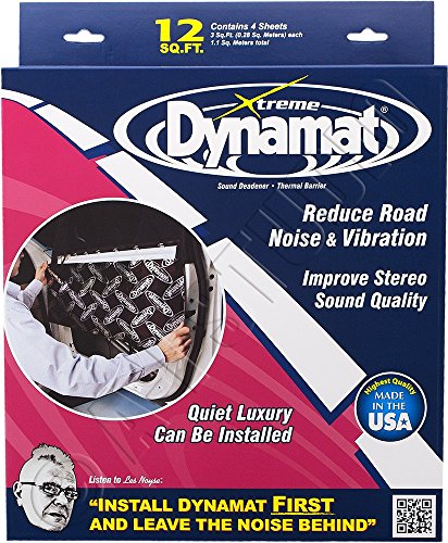 dynamat-10435-12-x-36-x-0067-thick-self-adhesive-sound-deadener-with-xtreme-door-kit-by-dynamat