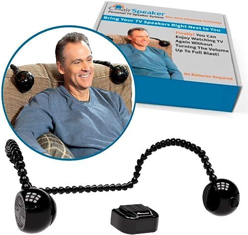 ChairSpeaker Voice Enhancing TV Speaker System