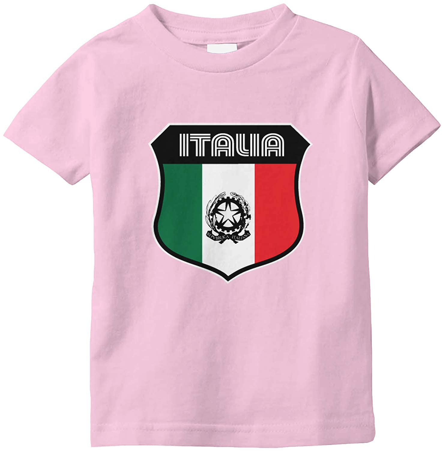 Amdesco Italia Crest Italy Italian Flag Infant T-Shirt