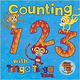 1ccd50026da Tinga Tinga Tales  Counting 1 2 3 with Tinga Tinga Tales Hardcover – 6 Oct  2011