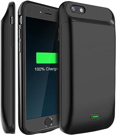 Amazon.com: Funda con batería para iPhone 7 de 4,7 pulgadas ...