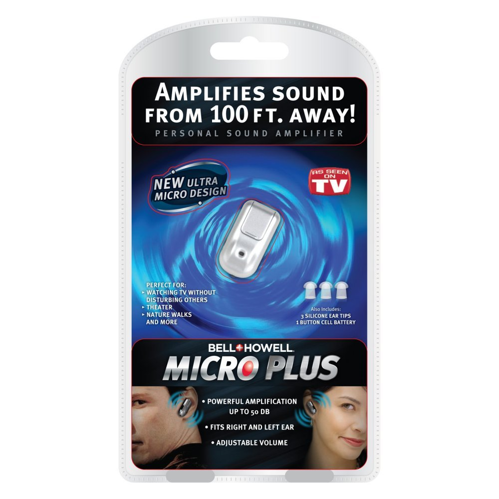 Bell & Howell MicroPlus Hearing Amplifier