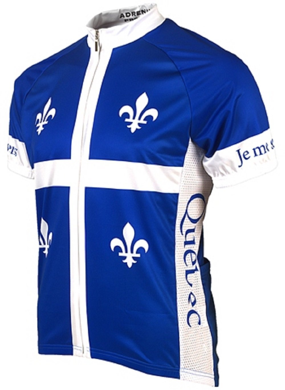 Adrenaline Promotions Canadian Provinces Quebec Cycling Jersey ADRE2