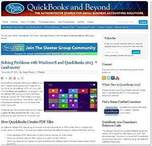 QuickBooks and Beyond by The Sleeter Group
