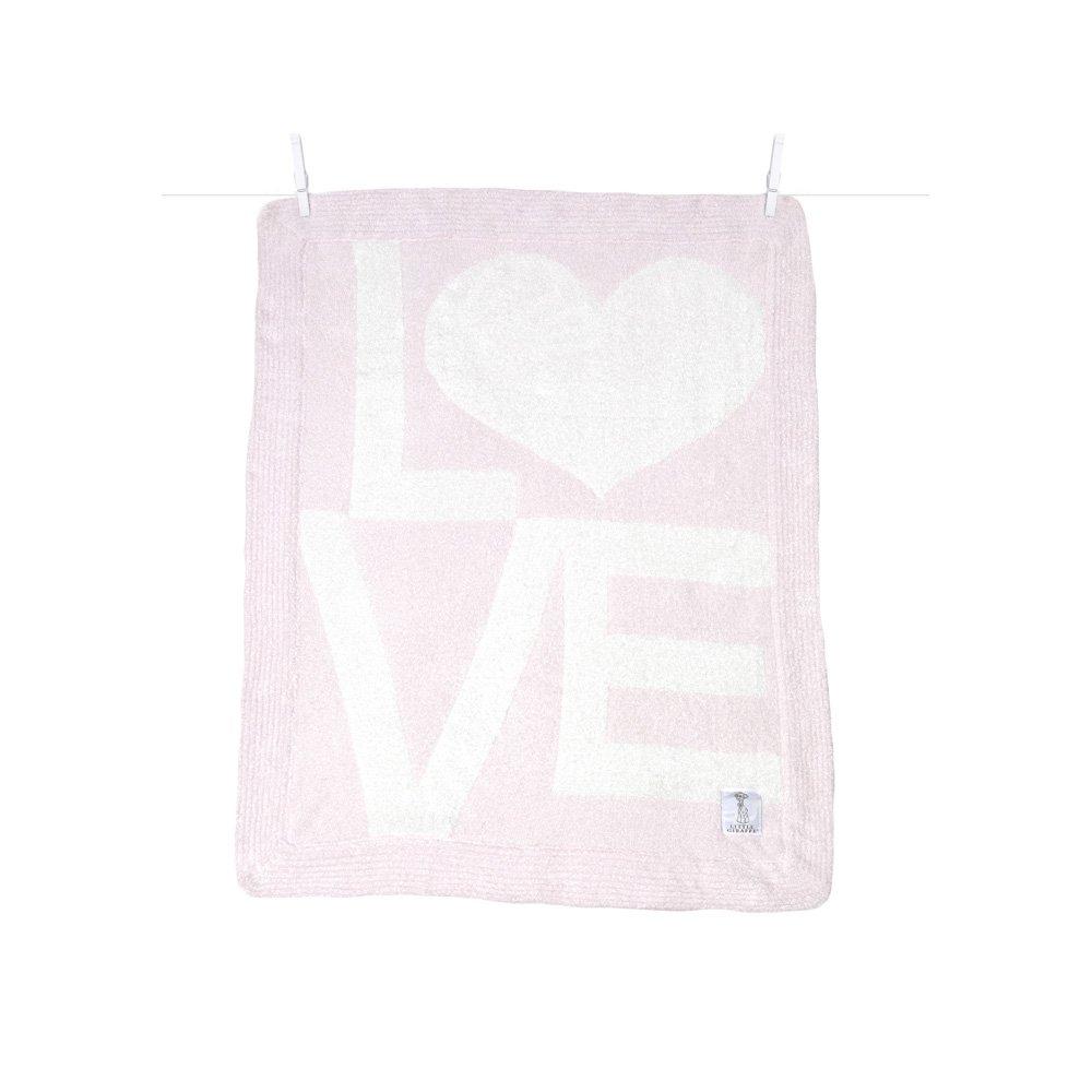 Little Giraffe Dolce Love Blanket, Pink, 29x35