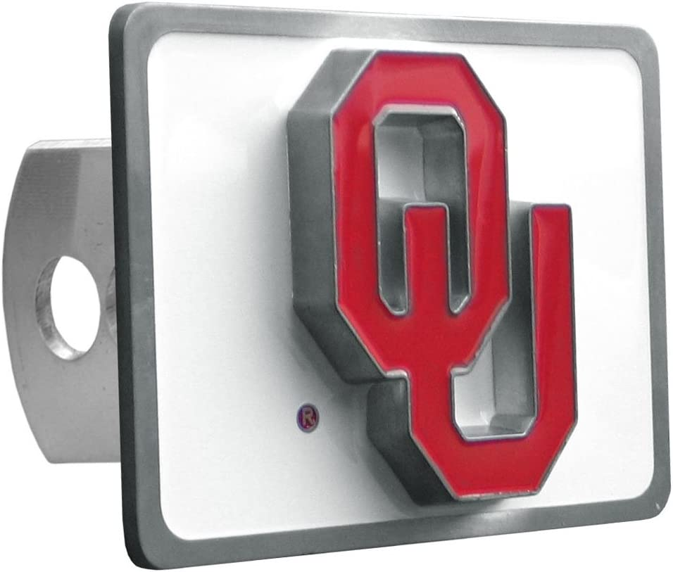 Siskiyou NCAA Oklahoma Sooners Trailer Hitch Cover Class II /& III