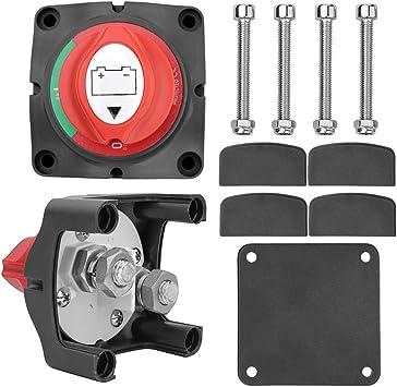 6v 12v Heavy Duty Cutoff Power Switch Copper Disconnect Switch for Car Truck UTV