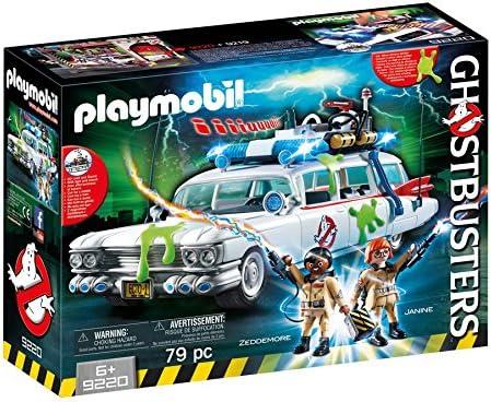 PLAYMOBIL Ghostbusters Ecto-1 con Módulo de Luz y Sonido, a Partir de 6 Años (9220): Amazon.es: Juguetes y juegos