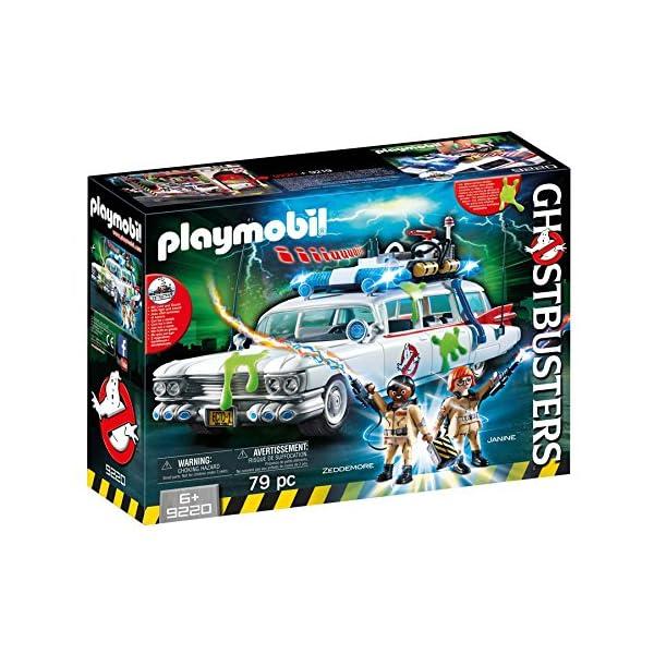 617 1iOSI9L. SS600  - PLAYMOBIL Ghostbusters Ecto-1