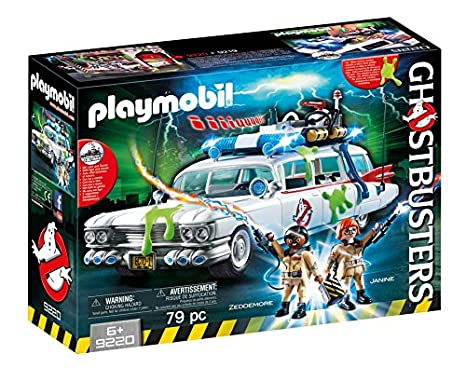 Amazon.com: PLAYMOBIL Ghostbusters Ecto-1: Toys & Games